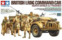 British LRDG Command Car North Africa with 7 Figures - Image 1