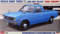 "Nissan Sunny Truck 1973 (GB120) Long Body Deluxe ""Early Version"" - Image 1"