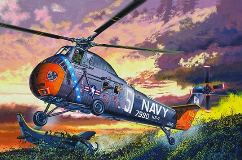 American H-34 Helicopter – Navy Rescue - re-edition - Image 1