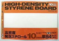 High-Density Styrene Board 10mm B4, 1pc