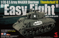 "U.S Army M4A3E8 Sherman Thunderbolt VII ""Easy Eight""  with resin parts"