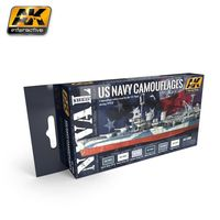 AK 5000 US NAVY CAMOUFLAGES SET