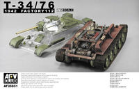 Soviet T-34/76 model.1942 (Factory 112) Tank with Clear Turret and Upper Hull - Image 1
