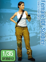 Modern IDF Female soldier - Image 1