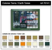 70141 Model Color - Earthtones Set