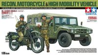 JGSDF Reconnaissance Motorcycle & High Mobility Vehicle Set - Image 1