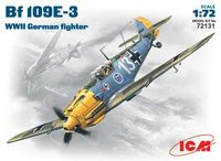 Bf109E-3 WWII German fighter
