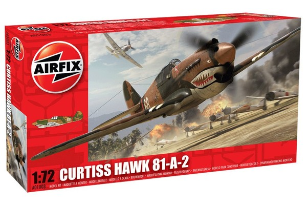 American fighter Curtiss P40B Warhawk - Image 1