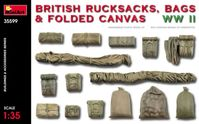 British Rucksacks, Bags & Folded Canvas