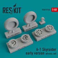 A-1 Skyraider early version wheels set - Image 1