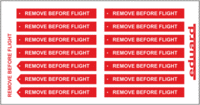 Remove Before Flight FABRIC - Image 1