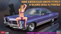 52224 1966 American Coupe Type P w/Blond Girls Figure - Image 1