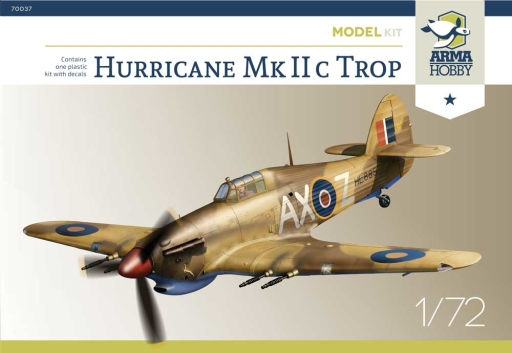Hurricane Mk IIc Trop Model Kit - Image 1