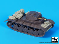Pz Kpfw II ausf C accessories set for S -model - Image 1