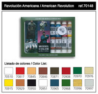 70148 Model Color - American Revolution Set