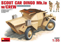 British IIWW Scout Car DINGO Mk.Ia with crew