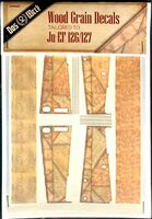 Wood Grain Decals Tailored To Ju-EF 126/127