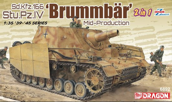 "Sd.Kfz.166 Stu.Pz.IV ""Brummbar"" Mid-Production 39-45 series - Image 1"