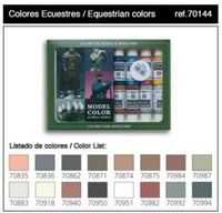 70144 Model Color - Equestrian Colors Set