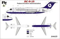 "DC 9-15 ""Federal Aviation Administration"" - Image 1"
