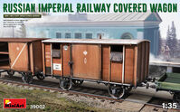 Russian Imperial Railway Cover Wagon - Image 1