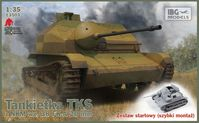 TKS - Polish Tankette with 20mm NKM wz. 38 FK-A STARTER SET includes quick build tracks - Image 1
