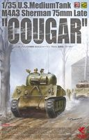 "U.S. Medium Tank M4A3 Sherman 75mm Late ""Cougar"""
