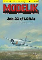 Russian fighter JAK-23 FLORA