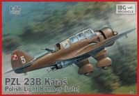 PZL 23B Karaś Polish Light Bomber late